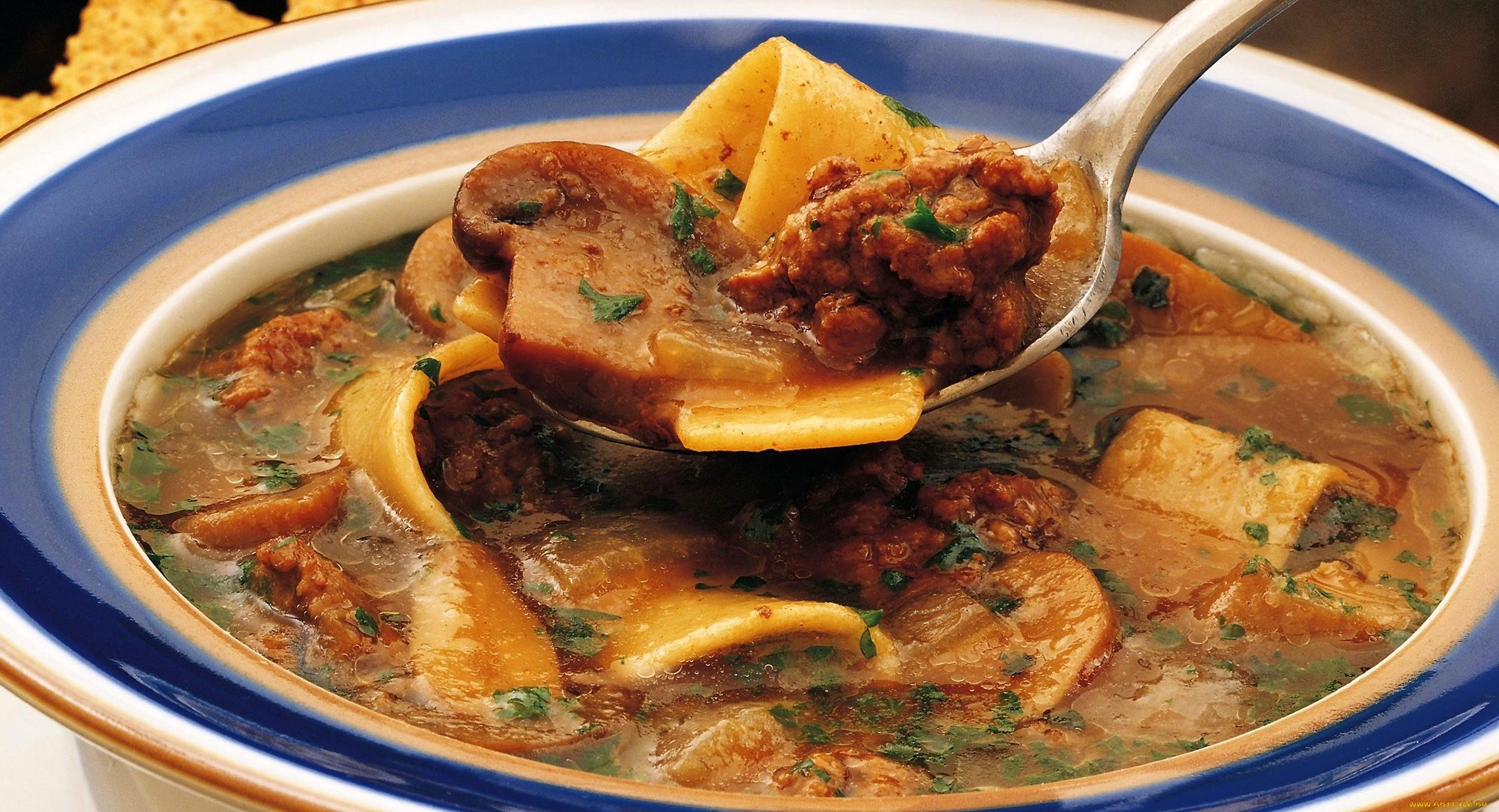 Грибной суп с тушенкой рецепт